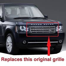 Chrome L405 Style Grille Conversion Range Rover L322 2010 12