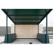 tettoia in ferro in ferro a sbalzo ts2 500x500 in ferro zincata e verniciata con