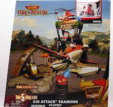 mattel disney planes fire u0026 rescue air attack training playset