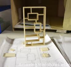 Doll House Bookcase Making A Modern Dollhouse Bookcase