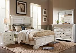 white king bedroom furniture set master bedroom white marsilona queen panel bed view 3 ashley