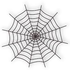 clipart halloween spider web icon