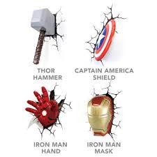 Iron Man Night Light Superhero Night Lights Awesome Stuff To Buy