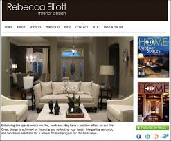 home interior design websites ideas and examples for web design