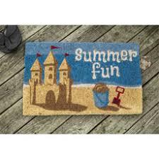 Summer Doormats Nautical Doormat Coastal And Beach Themed Doormats