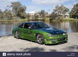 custom nissan 240sx s14 nissan modified custom car stock photos u0026 nissan modified custom