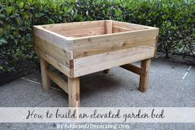 Building A Platform Bed With Legs by 42 Diy Raised Garden Bed Plans U0026 Ideas You Can Build In A Day