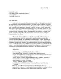cover letter for a scholarship application letter for dean position