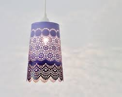 Purple Pendant Light Pendant Lighting Etsy