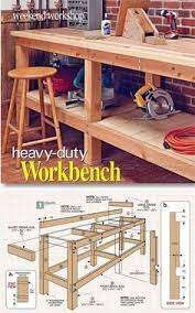 simple workbench plans 2 4 free download l shaped patio bar plans