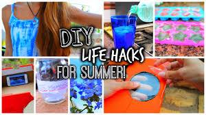 diy summer life hacks 2015 tatiana boyd youtube