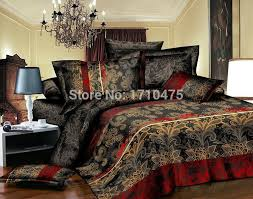 Wholesale Bed Linens - brown flower printed wholesale price egyptian cotton embroidery
