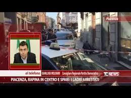 rapina in piacenza rapina in centro e spari i ladri arrestati