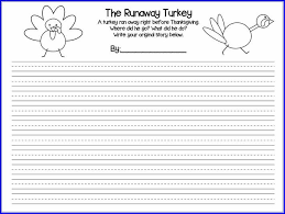 thanksgiving writing prompts for 2nd grade page