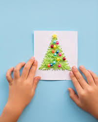 christmas cards for kids to make home design inspirations