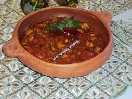 cuisiner moule tajine de moules à la marocaine dans ma modeste cuisine