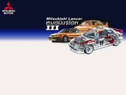 mitsubishi lancer evo 3 mitsubishi lancer evolution 3 by nookadum on deviantart