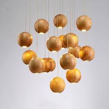 suspension design chambre suspension design bois finest dcoration salle manger clectique en