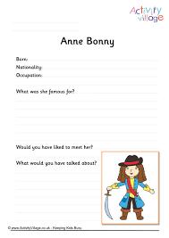 bonny worksheet