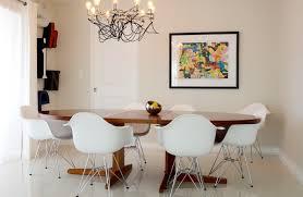 furniture mid century modern decoration with branch chandelier