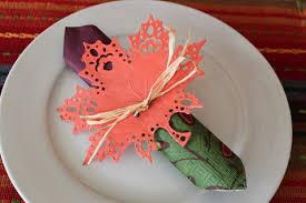 Diy Thanksgiving Napkin Rings Diy Leaf Thanksgiving Napkin Ring Oh My Creative