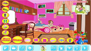 teen room clean up barbie room decoration game for girls