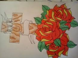 rip cross roses by awson on deviantart