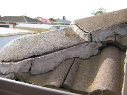 Monier Roman Concrete Roof Tiles by Dislodged Corner Terracotta Ridge Caps Look At This Roof