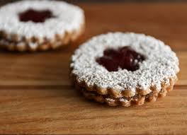 not quite traditional linzer cookies fixx