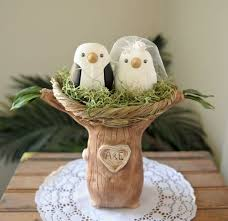 birds wedding cake toppers wedding cake toppers bird wedding cake topper