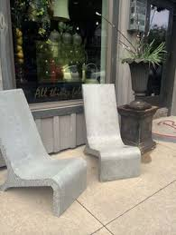 Adarondak Chairs Custom Made Concrete Adirondack Chair By Masonry And Metal L P