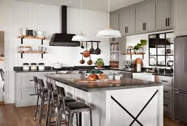 joanna gaines farmhouse kitchen with cabinets modern farmhouse kitchen design tips ideas magnolia