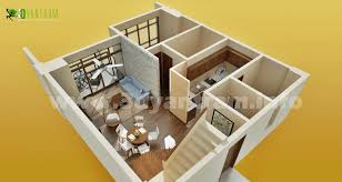 2 story 3d floor plan trends also nice simple bedroom house design