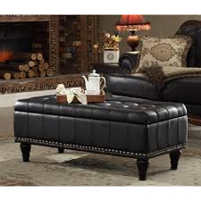 Black Storage Ottoman With Tray Furniture Epic Picture Of Living Room Furniture Decoration Using