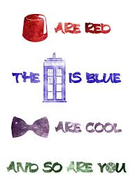 dr who valentines day cards doctor who inspired rhyme s day card 5 7 100lb satin