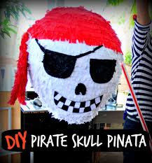 how to make a pirate skull party pinata pirate birthday