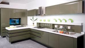 Modern Kitchen Cabinets Handles Interesting No Handle Kitchen Doors Gallery Ideas House Design