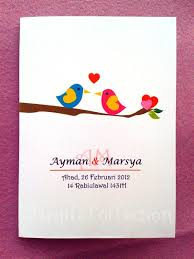 Love Bird Wedding Invitations Love Birds Wedding Invitation Card Kad Undangan Kahwin