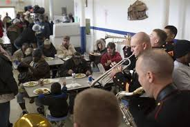 new orleans based marines serve community with special meal
