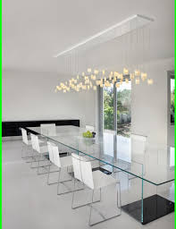 ladario sala da pranzo idee illuminazione interni moderna sala da pranzo a sospensione