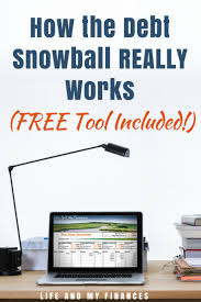 Budget Calculator Free Spreadsheet by How The Debt Snowball Really Works Free Tool Included