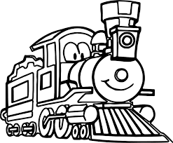 trains coloring pages virtren com