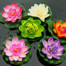 Cheap Flowers For Wedding Cheap Fake Lotus Flower For House Decoration Fish Tank Accessories