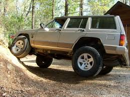 lifted jeep cherokee what size lift to fit stock rubicon wheels and tires