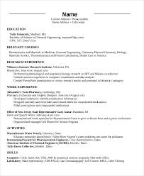Resume Dates Chronological Resume Template 28 Free Word Pdf Documents