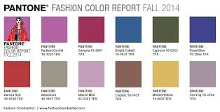 pantone color forecast 2017 pantone fashion color report fall 2014 fashion trendsetter