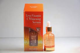 Serum Vitamin C Wajah rolanjona levo vitamin c whitening serum nitaskincare
