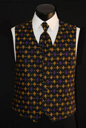 mardi gras tie mardi gras vests and ties