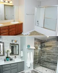 Master Bathroom Shower Tile Ideas by Rock Tile Shower Bathroom Glass Double Door On Shower Room