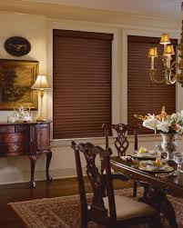 Dining Room Blinds Dining Room Wood Blinds Allure Window Coverings Window Treatments